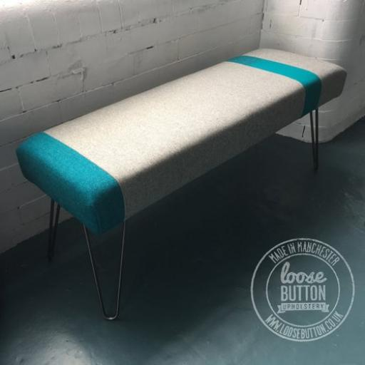 Colour Block Bench