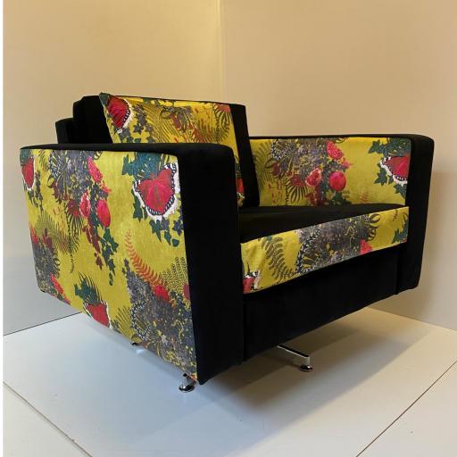 Mid-Century Style Swivel Chair